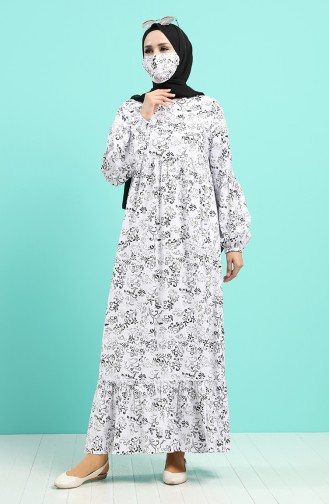 Robe Hijab Noir 1405-04
