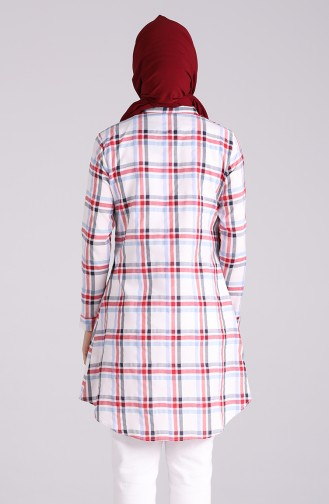 Robe Hijab Rouge 4062-01