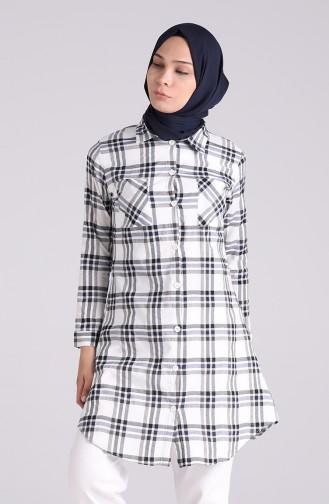 Robe Hijab Bleu Marine 4062-03