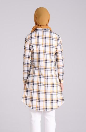Robe Hijab Moutarde 4062-04