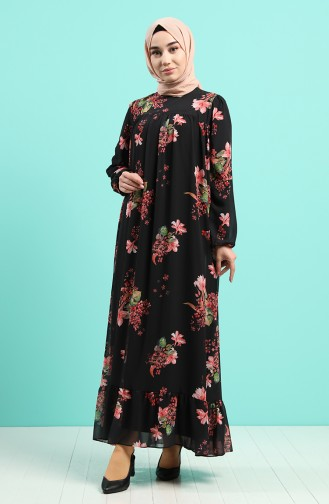 Robe Hijab Noir 5150-03