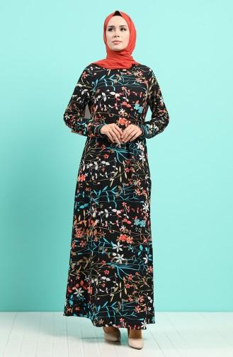 Robe Hijab Noir 5152-01