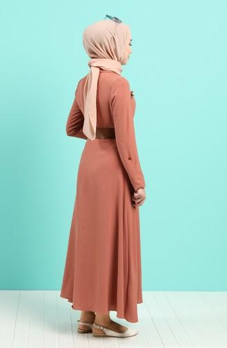 Robe Hijab Pelure d`oignon 5161-02
