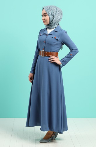 Robe Hijab Indigo 5161-04