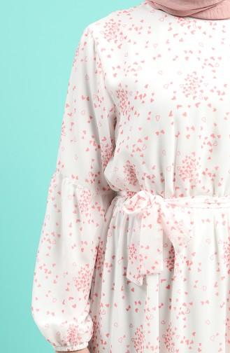 Naturfarbe Hijap Kleider 1000-02