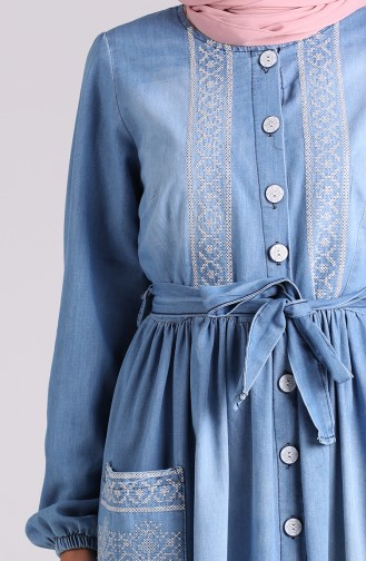 Jeans Blue Dress 7032-02