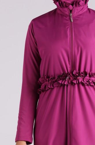 Maillot de Bain Hijab Plum 20147-02