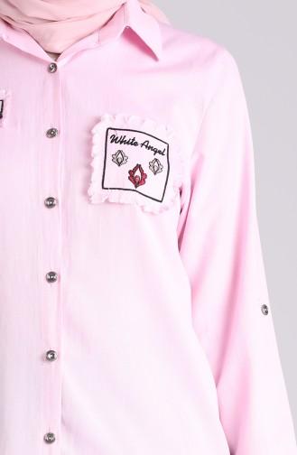 Tunique Rose bonbons 0800-01