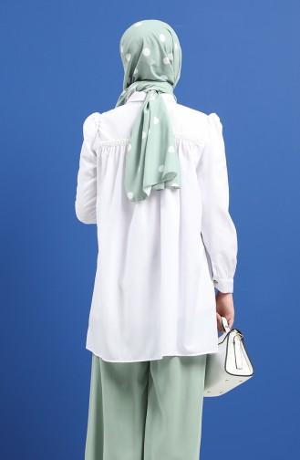 Tunique Blanc 1449-04