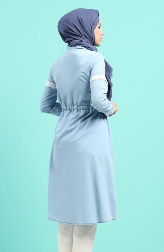 Tunique Bleu Glacé 1439-03