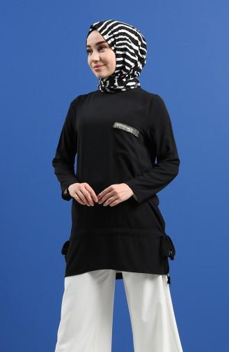 Tunique Noir 12098-02