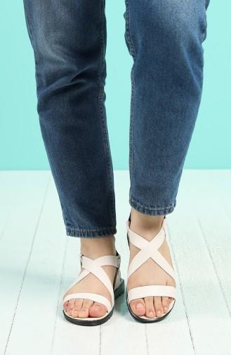 Sandales D`été Blanc 4702-2