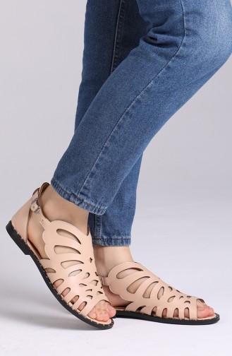 Sandales D`été Couleur de teint 0011-03