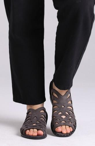 Sandales D`été Gris 0011-06