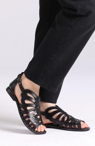 Sandales D`été Noir 0011-10