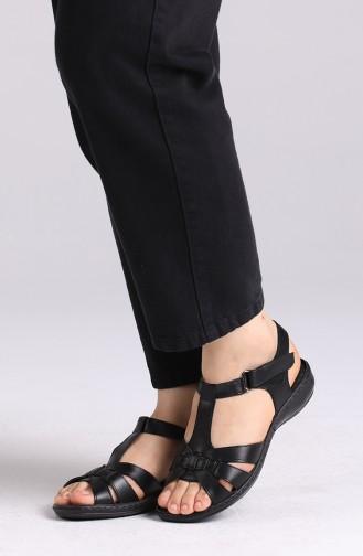Sandales D`été Noir 0504-01