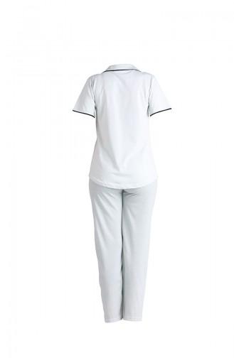 Wassergrün Pyjama 2544