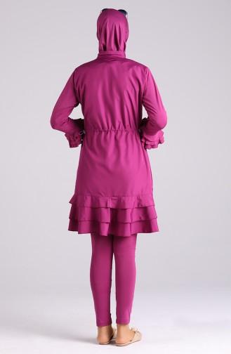 Zwetschge Hijab Badeanzug 20146-03