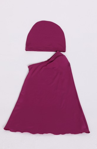 Damson Swimsuit Hijab 20146-03