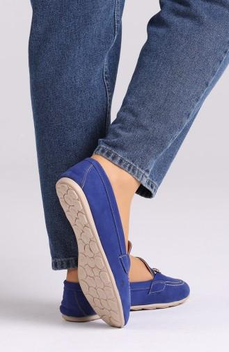 Saxon blue Woman Flat Shoe 0403-05