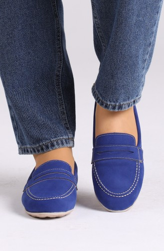 Saxon blue Woman Flat Shoe 0404-10