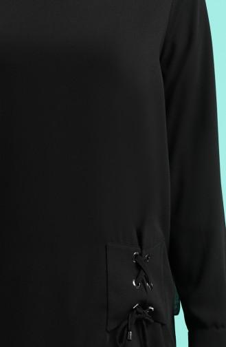 Schwarz Bluse 12106-06