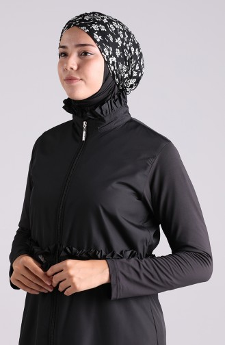 Bonnet de Bain Noir 26064-08