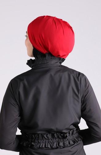 Rot Schwimmmütze Bonnet 26063-07