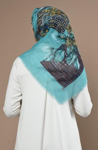 Echarpe Turquoise 90645-14