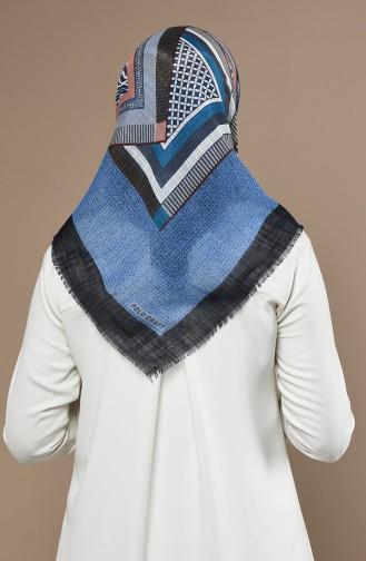 Echarpe Bleu 90646-10
