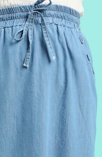 Jupe Bleu Jean 2326A-02