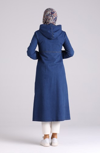 Navy Blue Mantel 4131-03