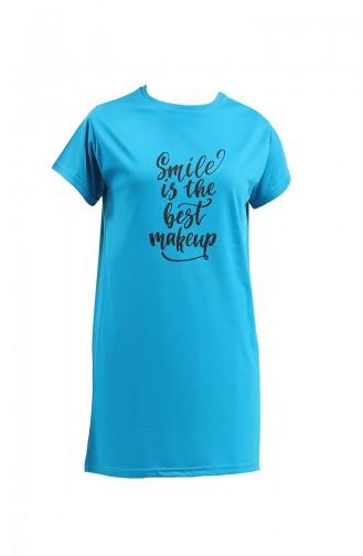 T-Shirt Bleu 8139-04