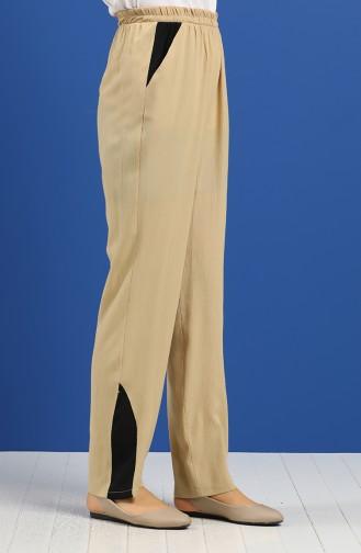 Pantalon Beige 0128A-02