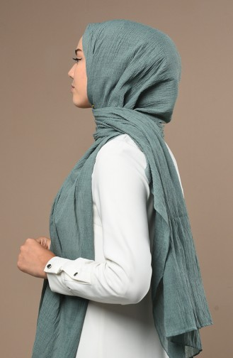 Mint green Sjaal 13182-11