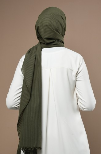 Châle Vert khaki clair 19053-11