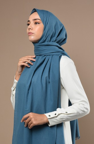 Oil Blue Sjaal 19053-14
