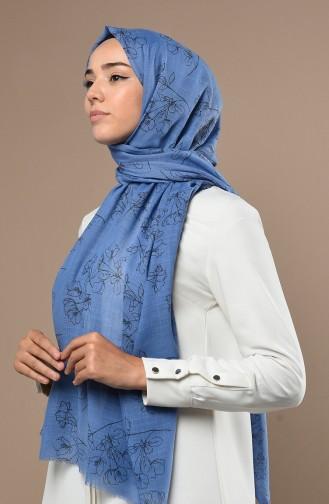 Jeans Blue Sjaal 3017FLR-14
