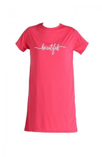 T-Shirt Rose 8138-01