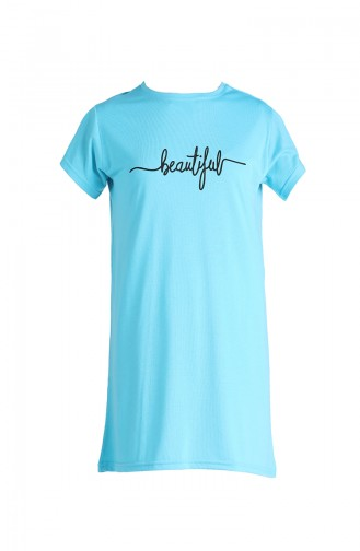 T-Shirt Turquoise 8138-05