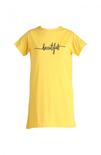 T-Shirt Jaune 8138-09