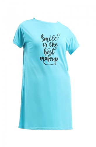 T-Shirt Turquoise 8139-05