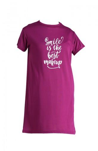 T-Shirt Plum 8139-06