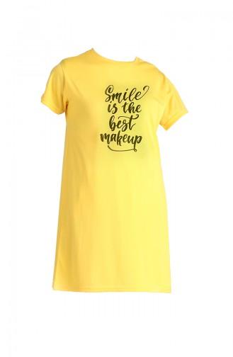 T-Shirt Jaune 8139-09