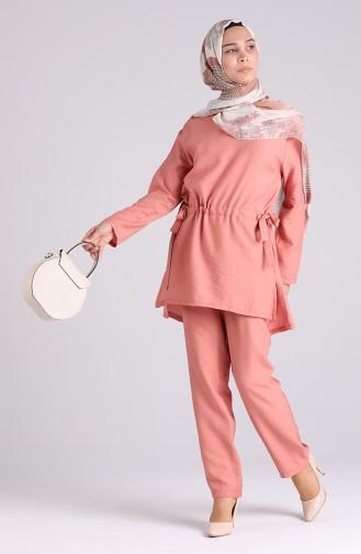 Beige-Rose Anzüge 0127-02
