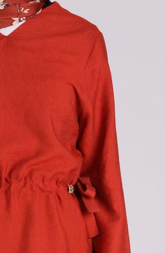 Ziegelrot Anzüge 0127-03