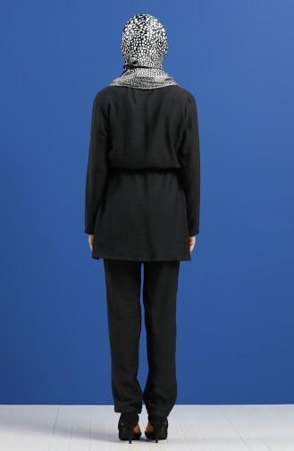 Schwarz Anzüge 0127-04