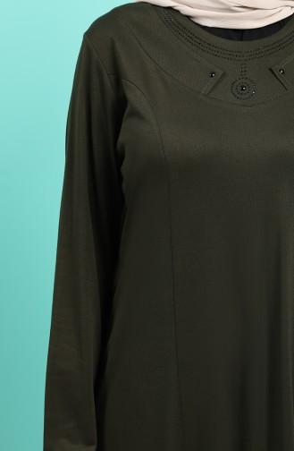 Robe Hijab Khaki 4522-03