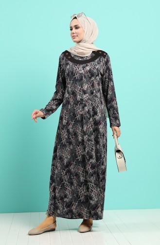 Robe Hijab Noir 4590-02
