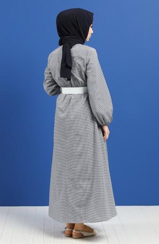 Robe Hijab Bleu Marine 2062-03